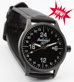 NEW! Nordschleife BLACK EDITION 24 hour watch