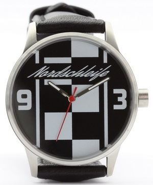 Nordschleife Chequered Flag XL 43 mm watch