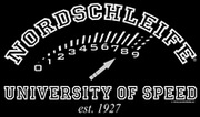 Nordschleife T-Shirt UNIVERSITY OF SPEED 2.0