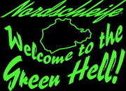 Nordschleife T-Shirt Welcome to the Green Hell