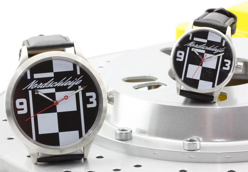 Nordschleife Chequered Flag XL 43 mm and Caliber 65 watches